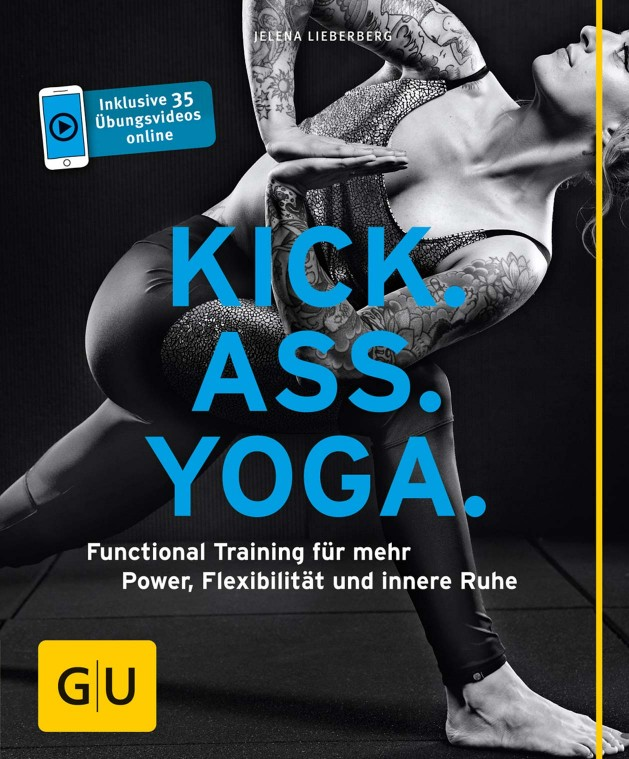 Kick. Ass. Yoga.